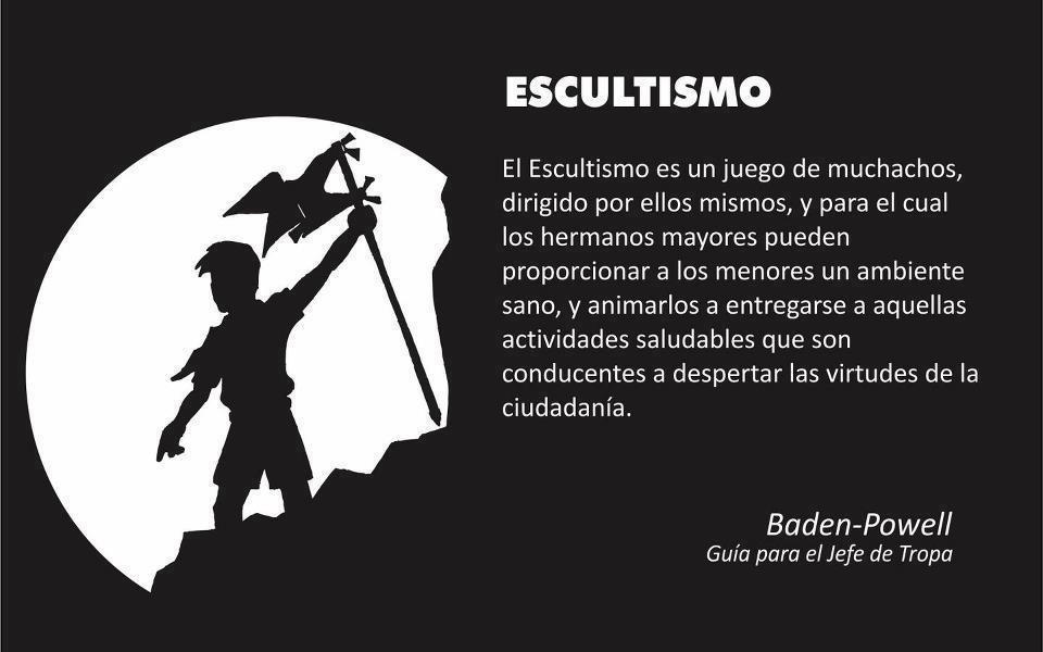 Cita de Baden Powell en la historia